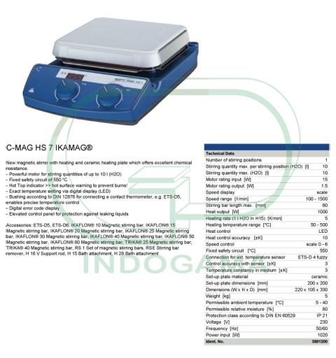 IKA Hotplate Stirrer C MAG HS7